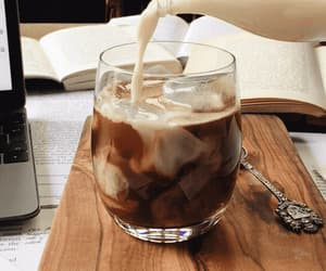 book, food, and milk image