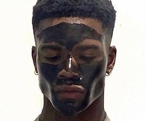 black boy, face mask, and fine image