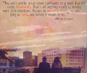 500 Days of Summer, edit, and quote image