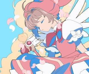 anime, cardcaptor sakura, and pastel image