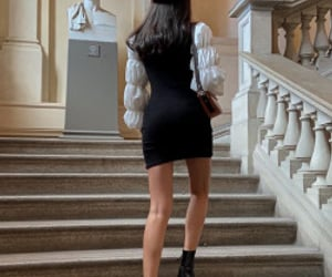 fashion, black, and chic image