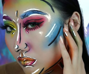 beauty, eye makeup, and makeuplooks image