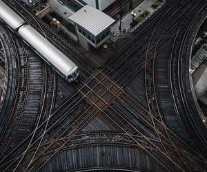 tracks and train image