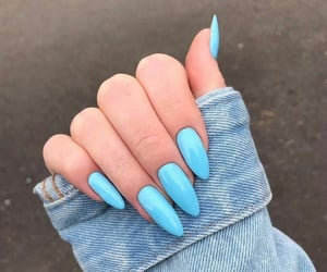 nails, hands, and cute image