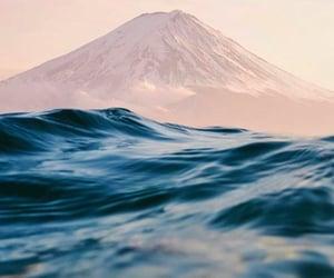 mountain, sea, and wanderlust image
