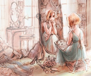 concept art, tangled, and claire keane image