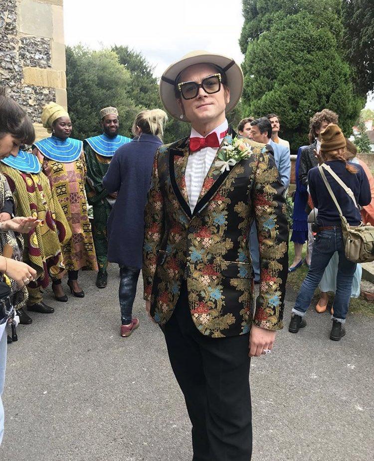 costume, elton john, and fashion image