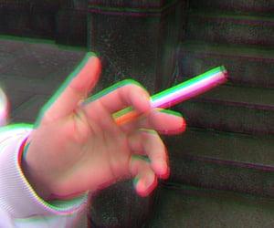 cigarette, fire, and Nicotine image