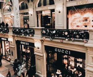 gucci, city, and luxury image