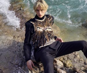 dior, editorial, and male model image