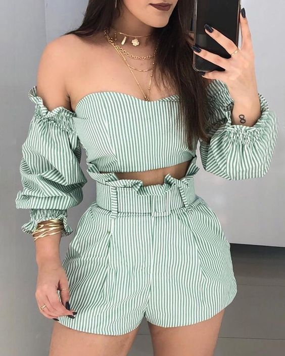 article, chic, and outfit image