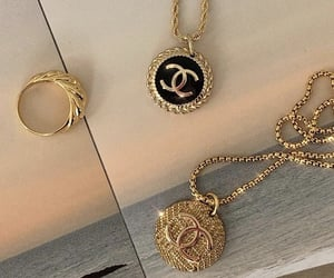 necklace, chanel, and chic image