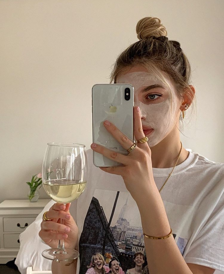 acne, skin, and skincare image