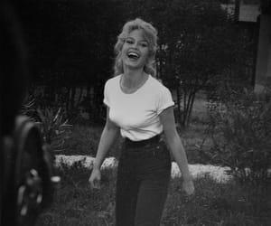 50's, black and white, and brigitte bardot image