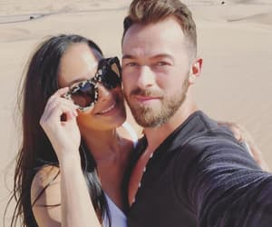 wwe, nikki bella, and artem chigvintsev image
