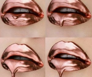 chrome, rose gold, and drippin image
