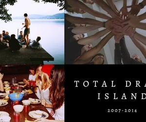 aesthetic, tv show, and total drama island image