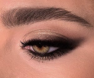 eyes, makeup, and eyeshadow image