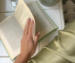 dress, book books, and love image
