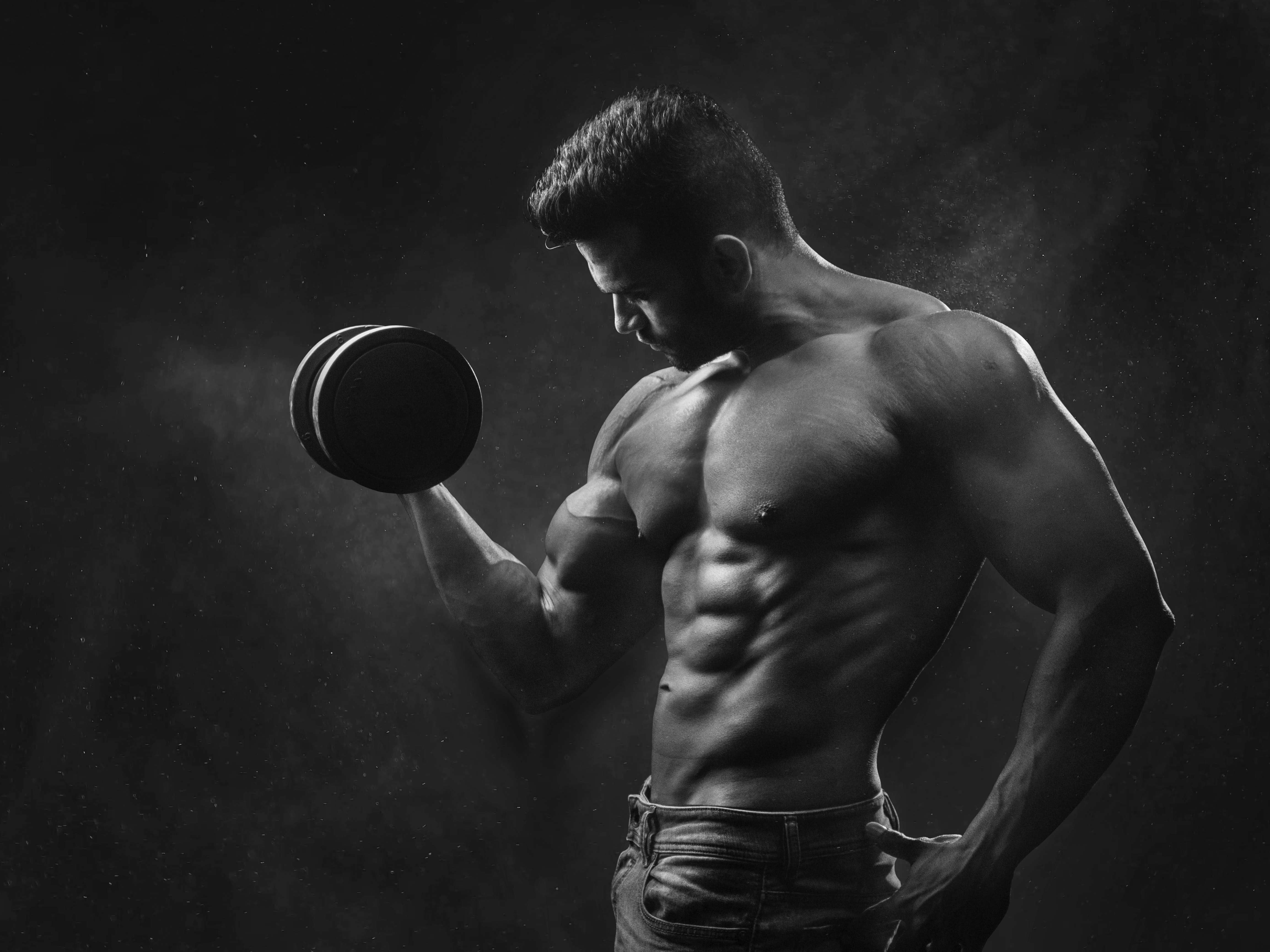 article, fitness, and man image