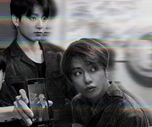 aesthetic, taehyung, and cyber image