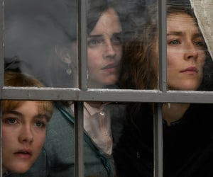 emma watson, greta gerwig, and little women image