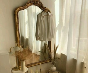 mirror, aesthetic, and home image