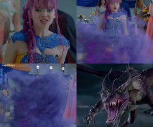 angry, disney, and dragon image