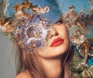 art, beautiful, and gigi hadid image