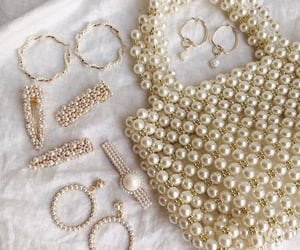 bag, earrings, and accessories image