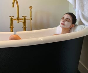kendall jenner, fashion, and self care image