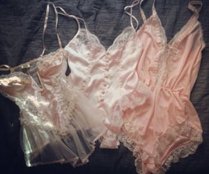 aesthetic, angel, and lingerie image