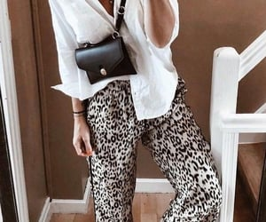 fashion, leopard print, and style image