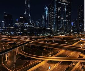 city, corona, and Dubai image