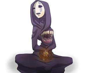 anime, fanart, and Kaonashi image