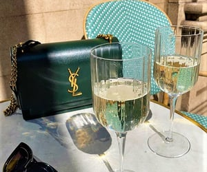 paris, wine, and yvessaintlaurent image