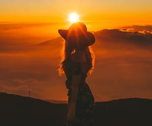 fashion, hawaii, and mountain image