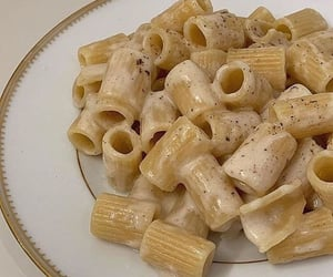 food, pasta, and drink image