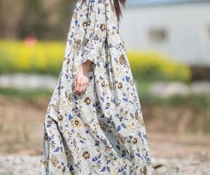 etsy, cotton dress, and gown image