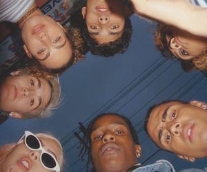 asap rocky, friends, and aesthetic image