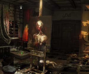 art, eerie, and studio image