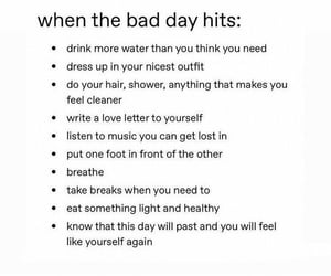 bad day, fashion, and healthy image