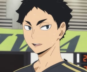 anime, haikyuu, and akaashi keiji image