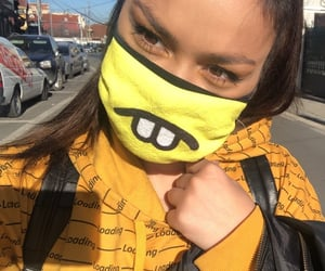 aesthetic, maske, and pandemic image