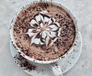 art, food, and latte image