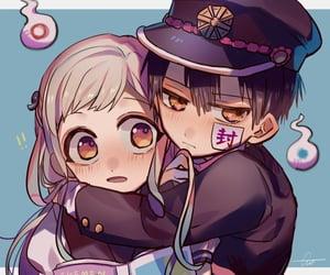 anime couple, cute anime couple, and anime romance image