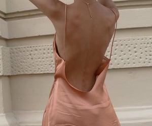 beauty, slip dress, and chic image