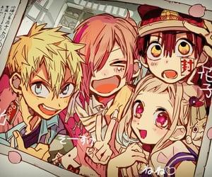 friends, toilet bound hanako-kun, and minamoto kou image
