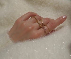 gold, jewelry, and rings image