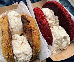 Cookies, dessert, and ice cream image